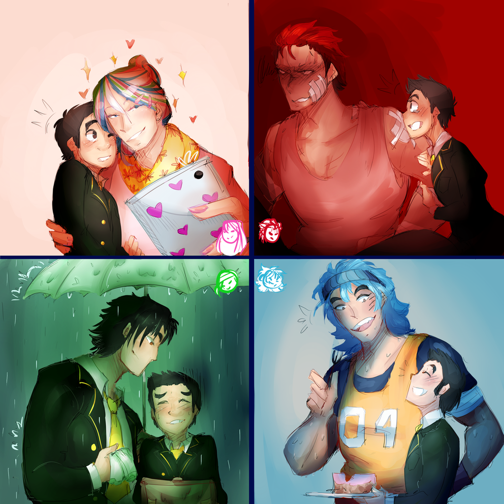 Toriko Otome Game AU By Sogequeen2550 On DeviantArt