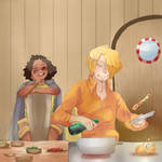Sanuso: Cooking for the Bae by Sogequeen2550
