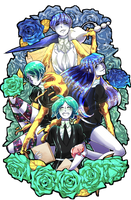 Houseki no Kuni- Just a bunch of Phos by Sogequeen2550