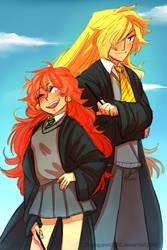 Slayers Hogwarts Au