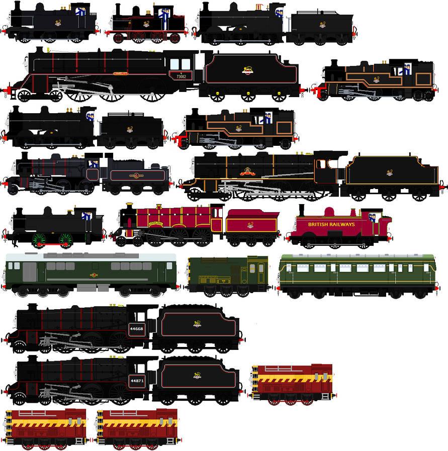 British Railways My Headcanon by migrannoche on DeviantArt