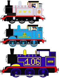 The E2s of Sodor (My Headcanon) by migrannoche