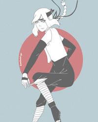 my OC Kurumi~