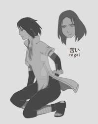 Nigai   OC Naruto c: