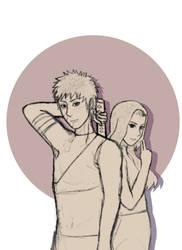 Sketch   Obito and Kaori