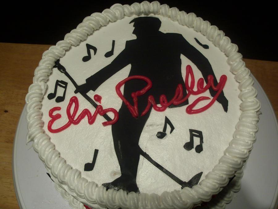 Elvis Presley Cake Pic 2 By Crosseyed Cupcake On Deviantart