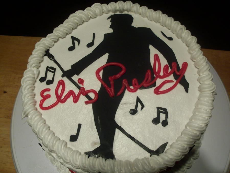 Pin Elvis Presley Cake Ideas And Designs