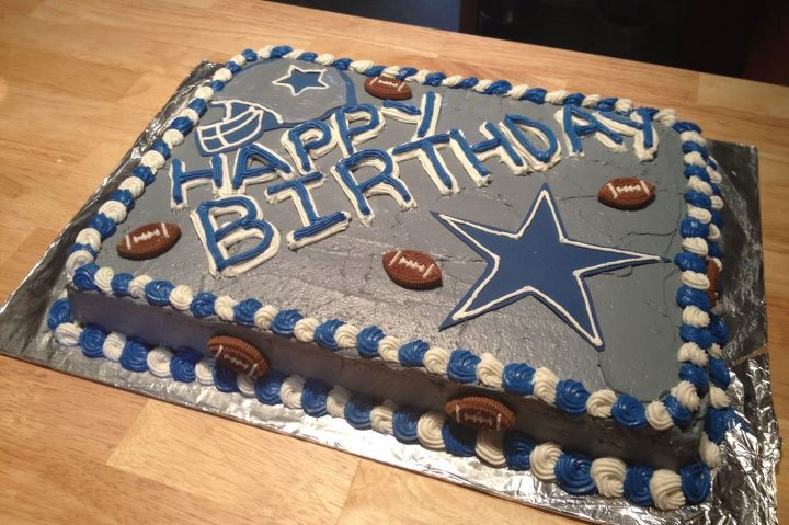 Dallas Cowboys Cake By Crosseyed Cupcake