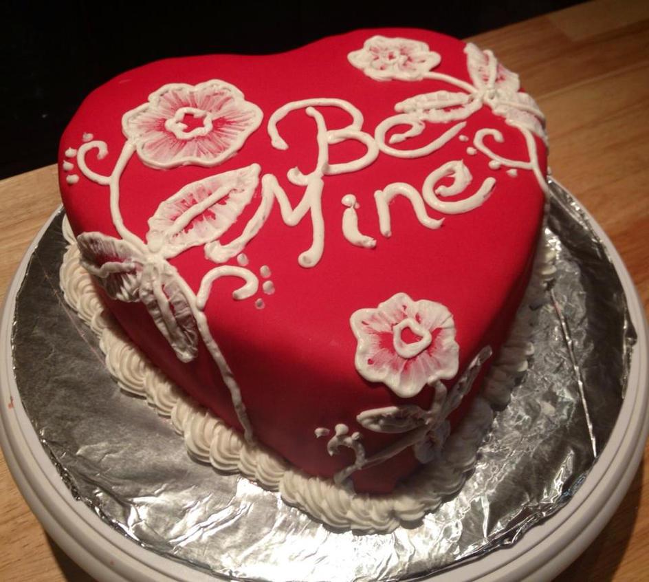 valentine cupcake cake ideas
