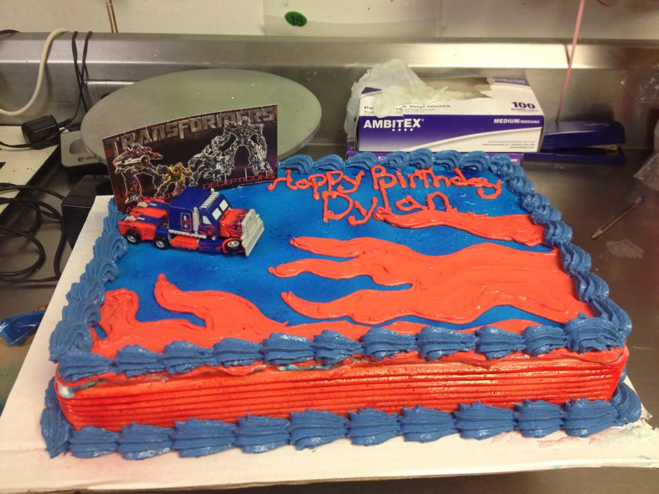 Transformers Birthday Cake By Crosseyed Cupcake On Deviantart