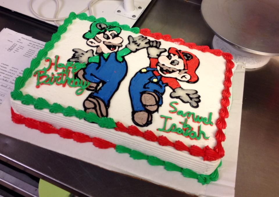 Mario And Luigi by Crosseyed-Cupcake