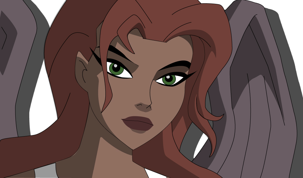 JLU Hawkgirl vector by Stangace20 - 180.5KB