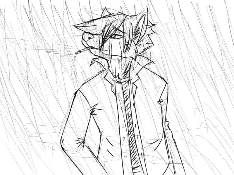 Rain by ZepherDog