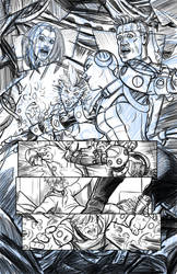 First Law of Mad Science Issue 7 pencils