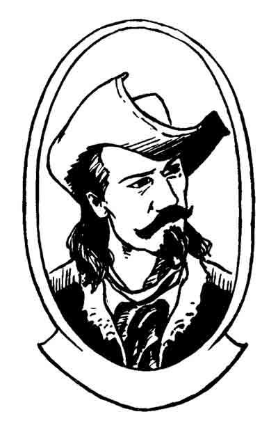 Buffalo Bill Cody Portait by cronevald
