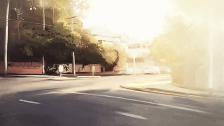 Brisbane Street by jameslee