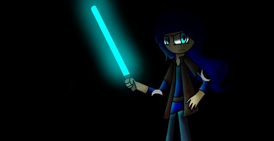 Jedi Luna by littleangel190
