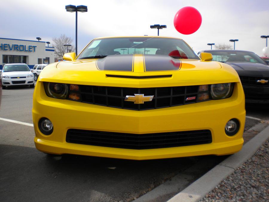 Chevy Dealership Albuquerque >> Bumblebee Camaro Front by wastemanagementdude on DeviantArt