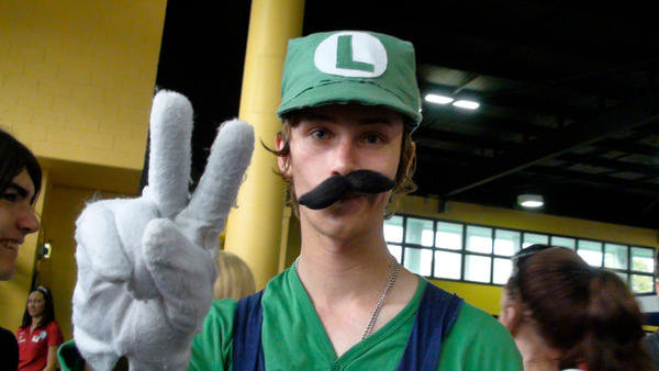 Me as Luigi by Navalius