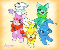 Elemetal cats