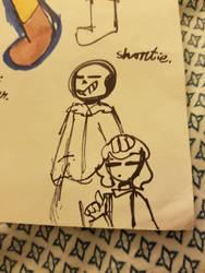 *shortie. [Old Art]