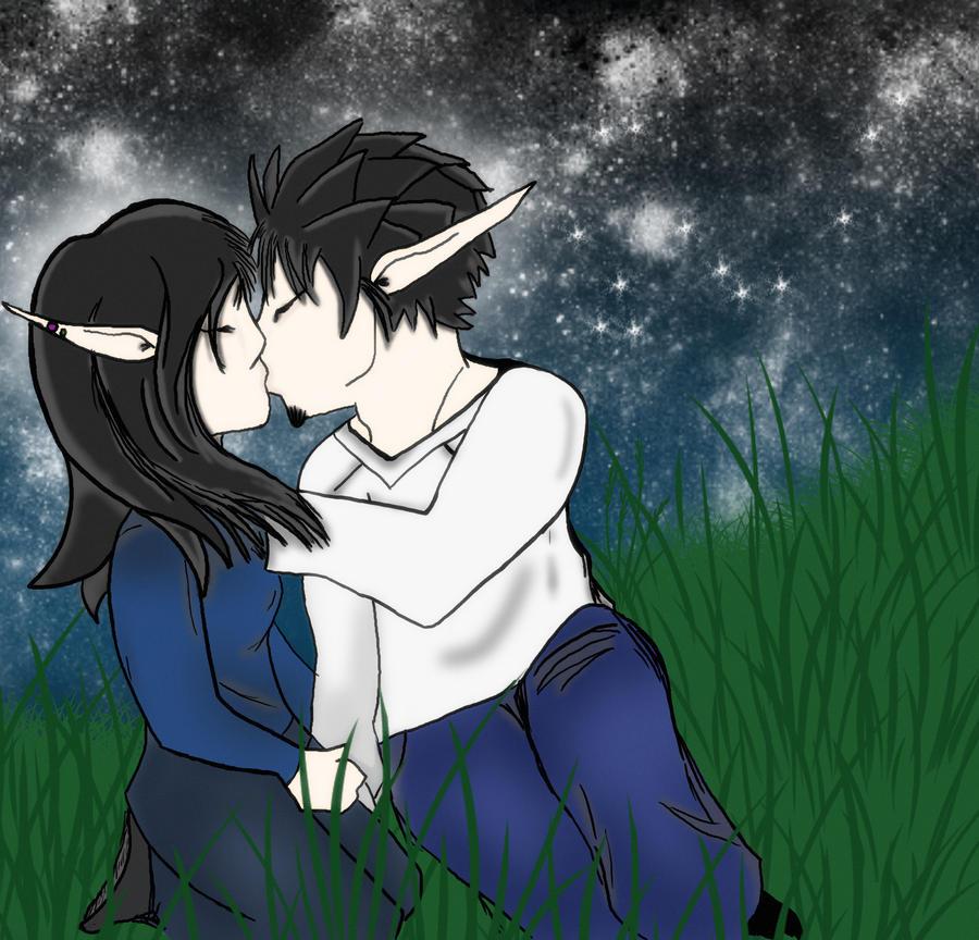 Draco's kiss by Junsui27