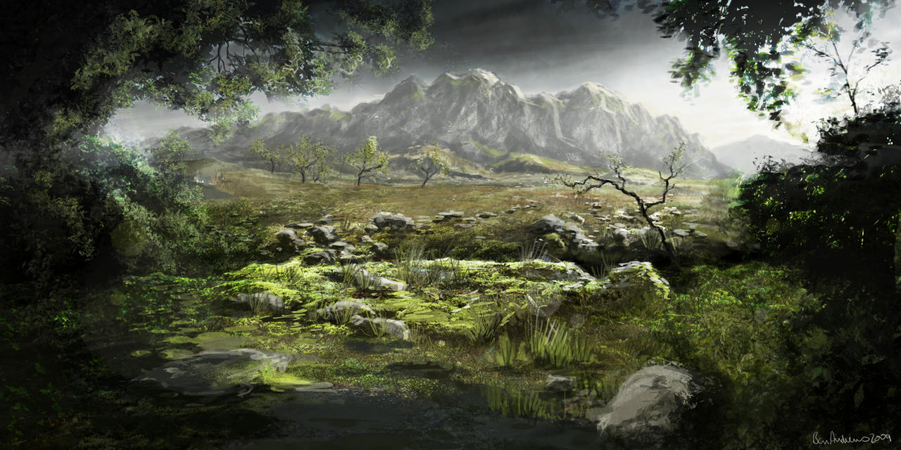 """Dear Esther"" Environment by Ben-Andrews"