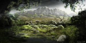 'Dear Esther' Environment by Ben-Andrews