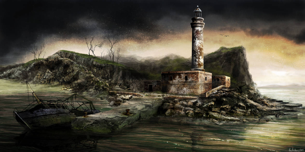 'Dear Esther' Lighthouse by Ben-Andrews