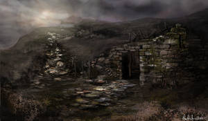 Dear Esther Cattle shed by Ben-Andrews