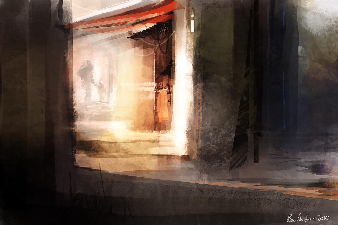 Warm corner Speedpaint by Ben-Andrews