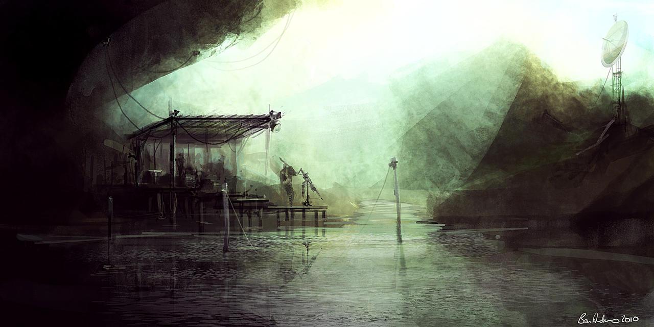 Cave speedpaint by Ben-Andrews