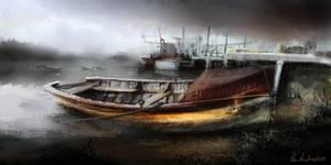 Boat speedpaint by Ben-Andrews