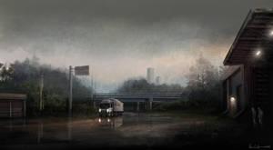 Delivery speedpaint by Ben-Andrews