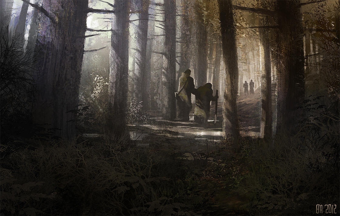 forest_meeting by Ben-Andrews