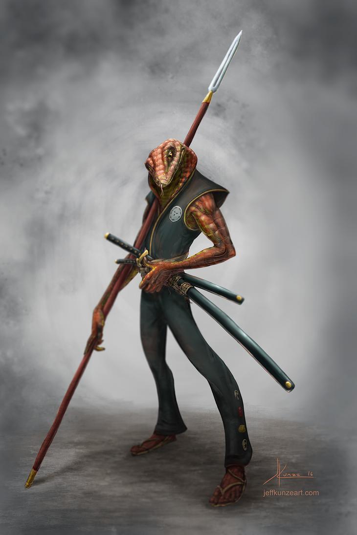 Cobra Samurai by JeffKunze