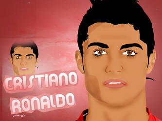 Cristiano Ronaldo Vector ART by YasseR-GTX