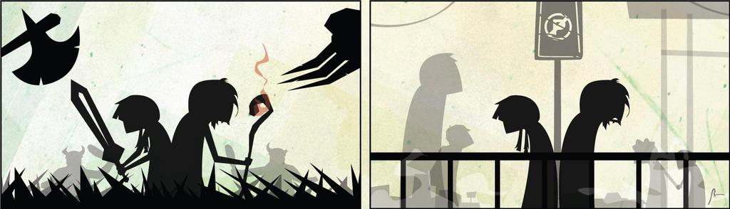 Shadowplay LXXII by bentonAsylum