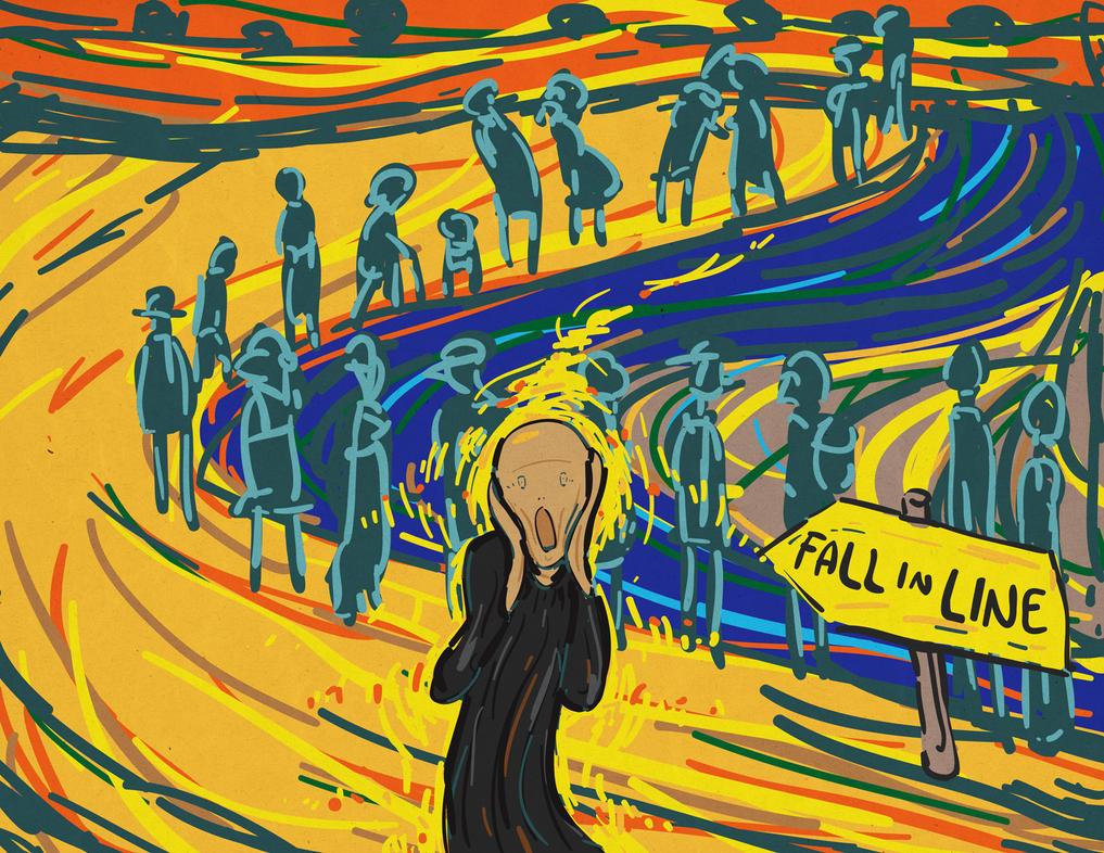 The Wail by bentonAsylum