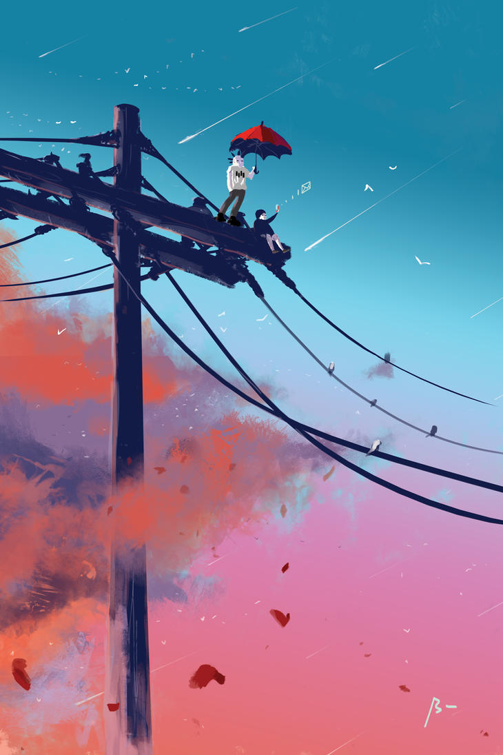 Catching Signals by bentonAsylum