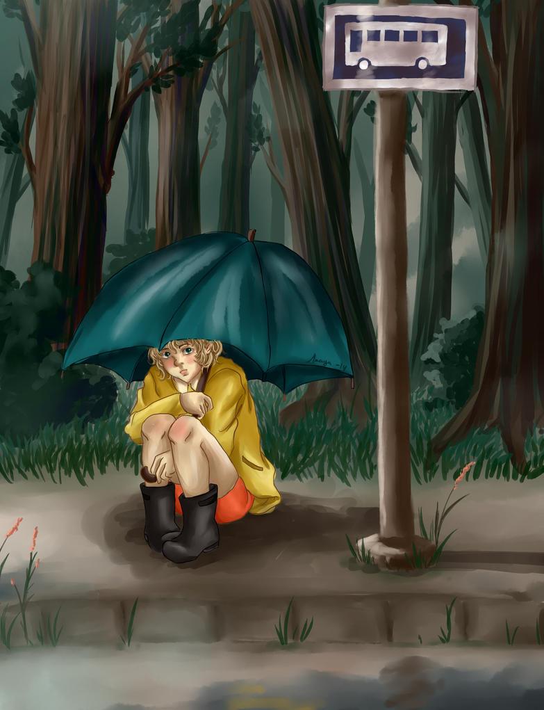Rain by BirdChild