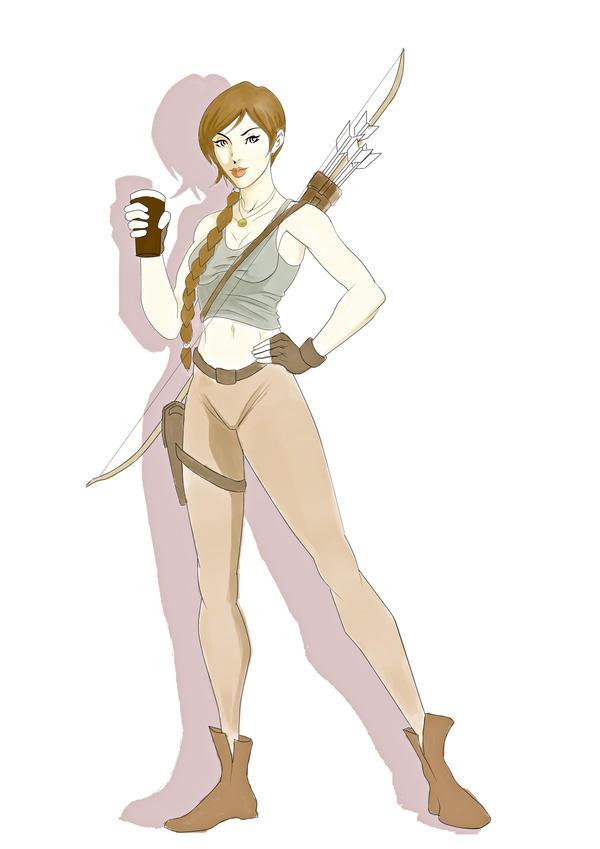 Tomb Raider by markpwhitaker