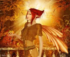Autumn flutter by art-by-Amaranth