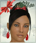 Christmas Earrings for Dawn Freebie