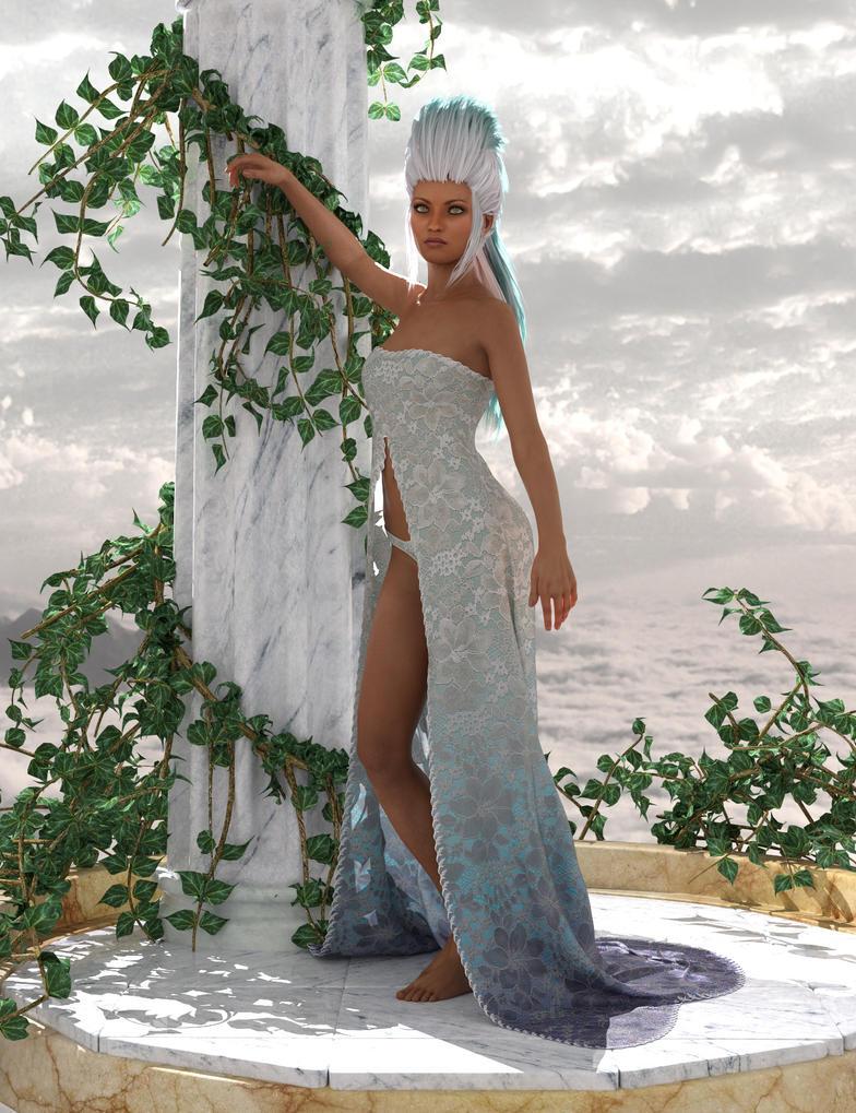 Romantic dress by art-by-Amaranth