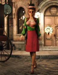 dForce Constance outfit by Amaranth3D