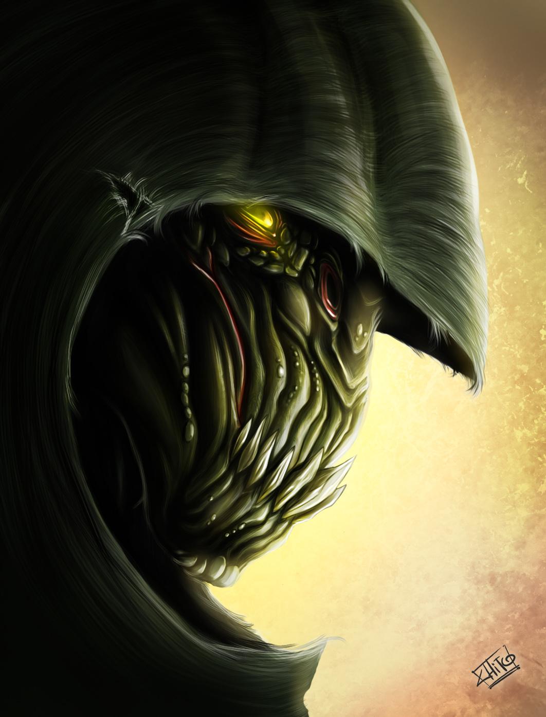 The Lizard by ManuDGI
