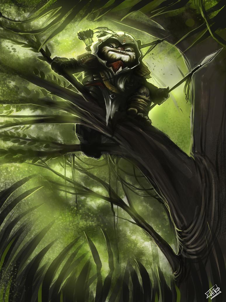 Assasins ewok by manudgi on deviantart - Ewok wallpaper ...
