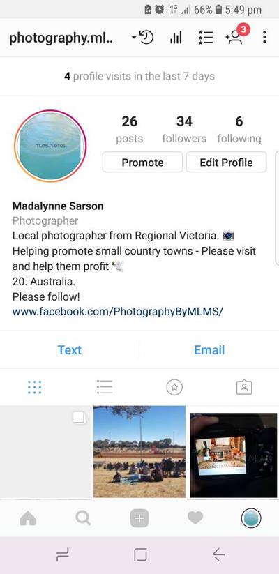 Instagram Account by RandomCookieCx