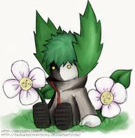 Zetsus Button Flowers :collab: by SasukeRoxMySox2